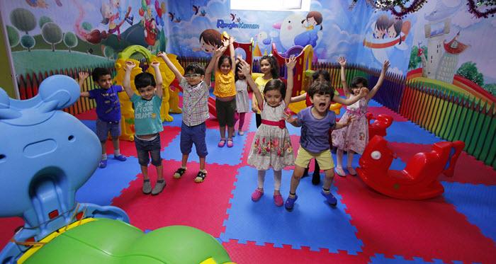 نقش مهد کودک در رشد اجتماعی کودکان